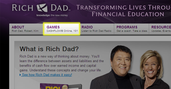 Rich Dad's Cashflow Game is Free