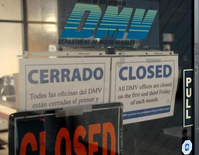 Image result for dmv closed
